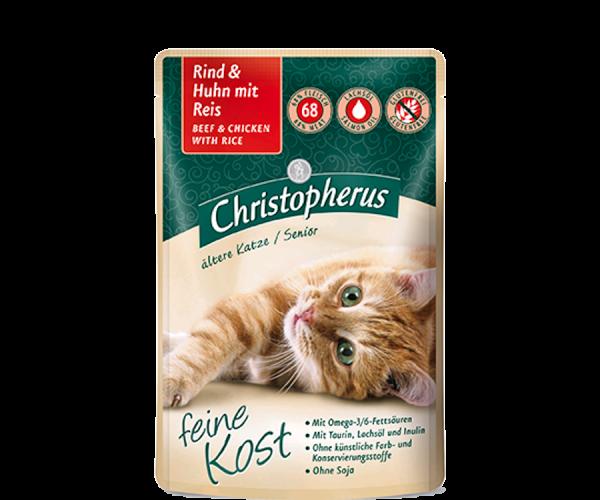 Christopherus (Senior) - Rind & Huhn mit Reis