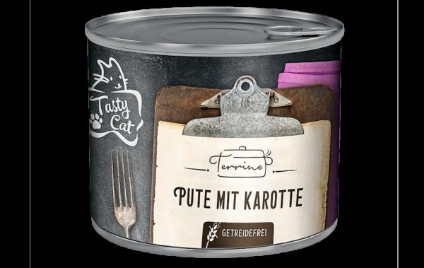 TastyCat Terrine Pute mit Karotte