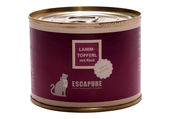 Escapure, Lamm Topferl mit Rind
